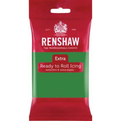 Fondant grün 250g von Renshaw (vegan)