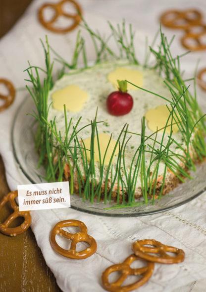 Käsetörtchen Kathi Backt vegan (Buch)