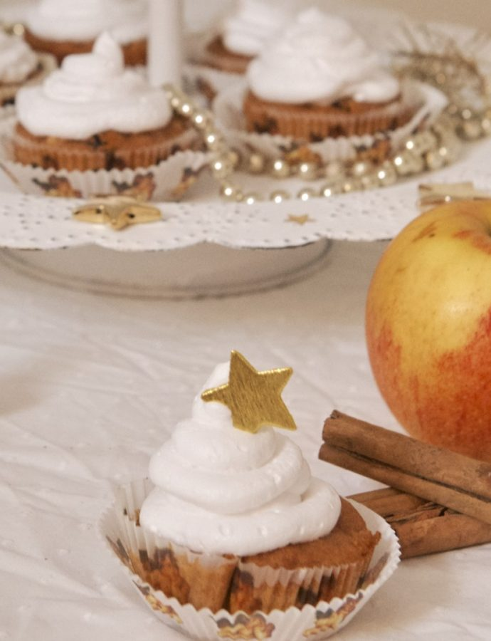 Bratapfel-Zimt-Muffins (vegan)