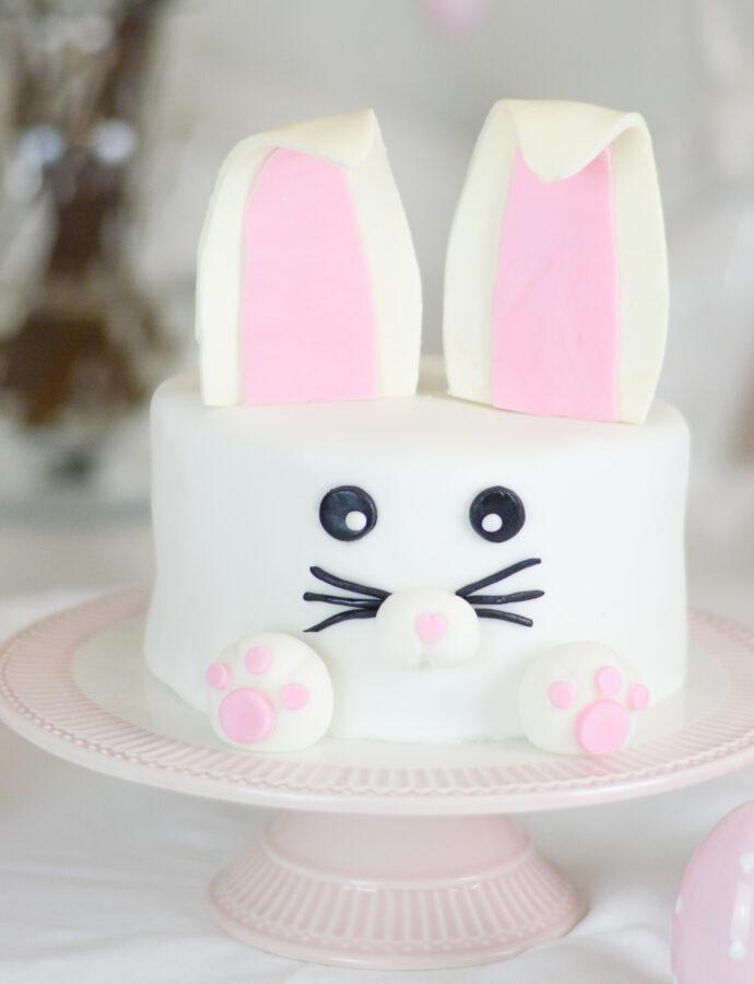 vegane Osterhasen-Torte