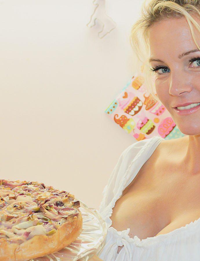 veganer Zwiebelkuchen