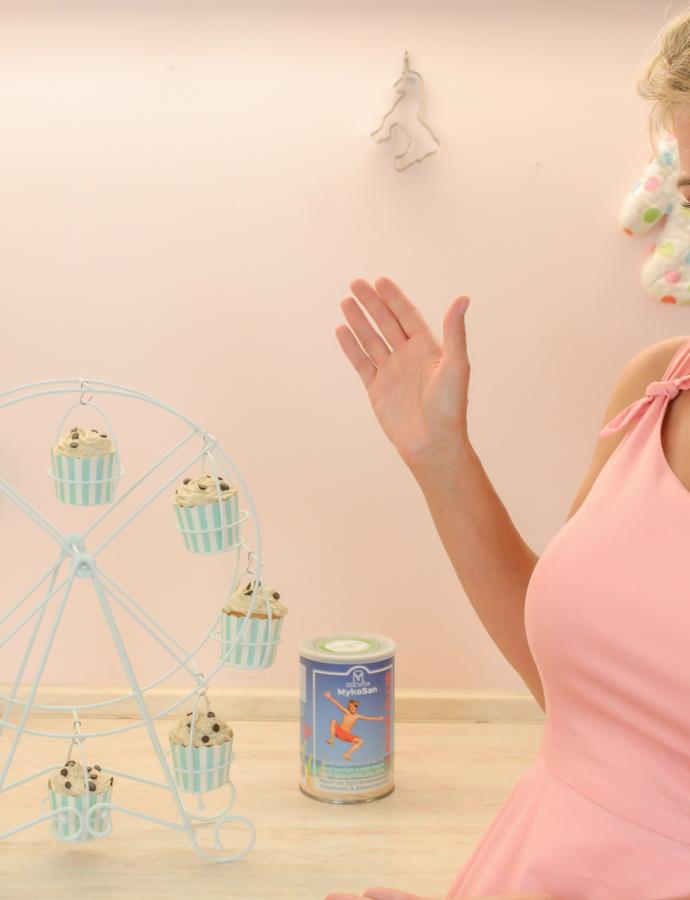 Vitaminreiche- und zuckerfreie Cupcakes